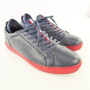 Tommy Hilfiger Shoes - Tommy Hilfiger Mens Premium Leather Sport Sneakers